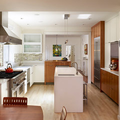 eclectic kitchen by Hanson General Contracting, Inc.