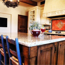 Traditional Kitchen by Danielle Jacques Designs LLC