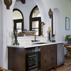 mediterranean kitchen by Hann Builders
