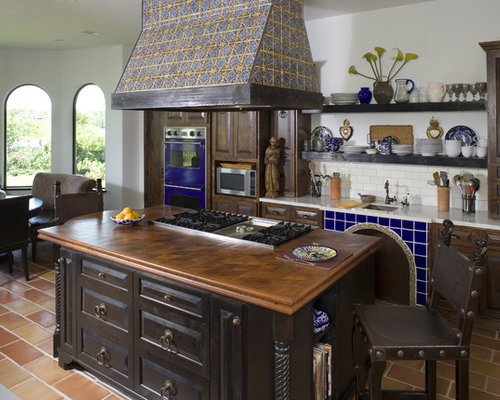 Mexican Kitchen Design Ideas Remodel Pictures Houzz