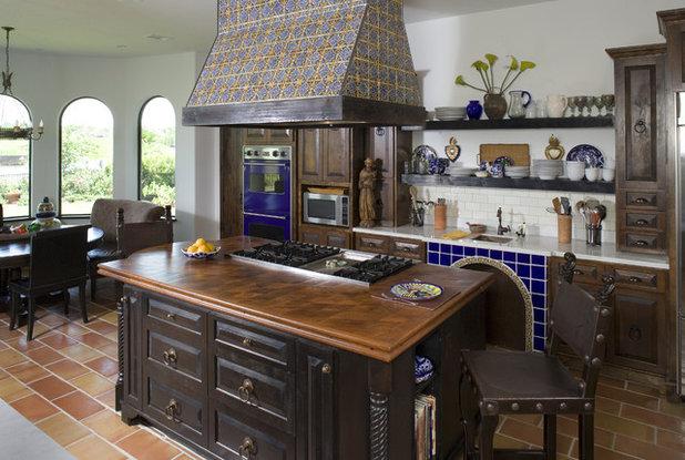 Mediterranean Kitchen by Hann Builders