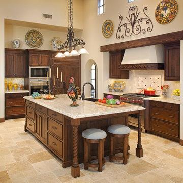 Hacienda Retreat- Rancho Santa Fe Kitchen