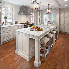 Traditional Kitchen by Morgan Howarth Photography