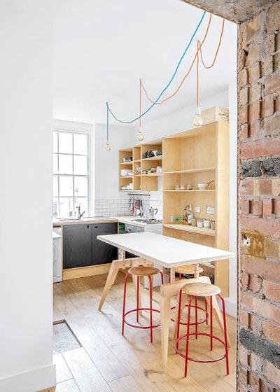 Industrial Kitchen by Common Ground Workshop