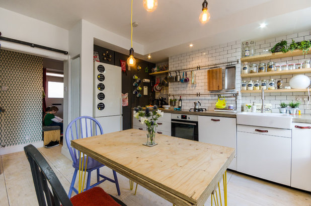 Eclectic Kitchen by Amelia Hallsworth Photography