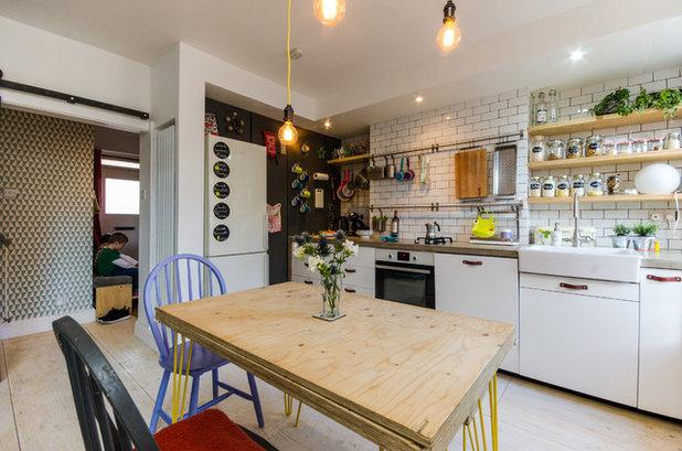 Eklektisk Køkken by Amelia Hallsworth Photography