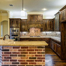 Traditional Kitchen by Blackstone Handcrafted Homes