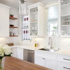 Traditional Kitchen by Nerland Building & Restoration, Inc.