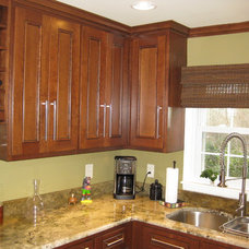 Traditional Kitchen by Benchmark Construction Co., LLC