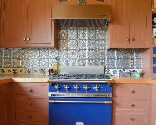 Lantern Tile Backsplash Home Design Ideas Pictures