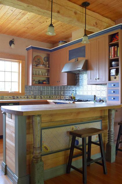 Rustic Kitchen by Sarah Greenman