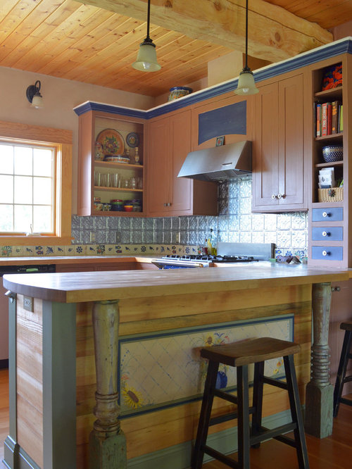 Pressed Tin Backsplash Ideas, Pictures, Remodel and Decor