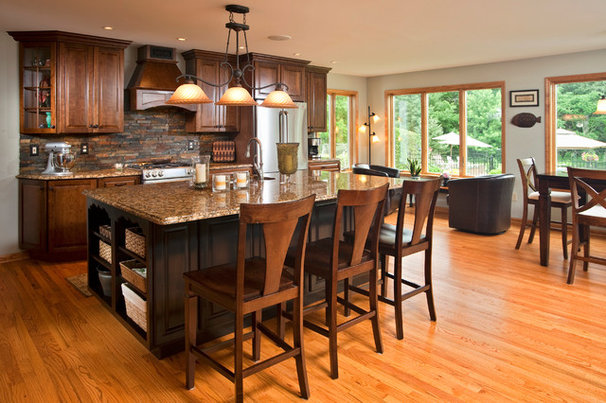 Traditional Kitchen by Classic Homes by Brian K. Smith, Inc.