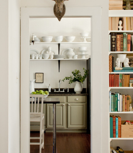 Sage Kitchen Cabinets | Houzz