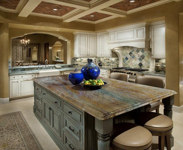 Traditional Kitchen by Hallmark Interior Design LLC