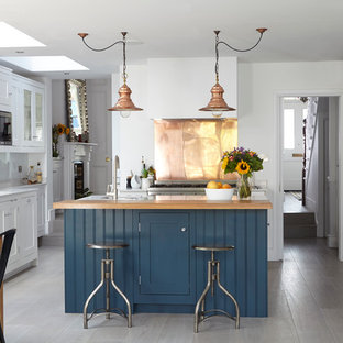 Blue Kitchen Island Houzz