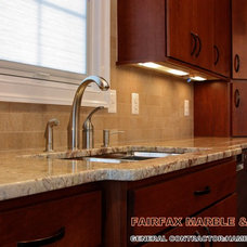 Traditional Kitchen by FAIRFAX MARBLE