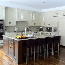 Traditional Kitchen by Kitchen Craft Cabinetry - Paivi McEown
