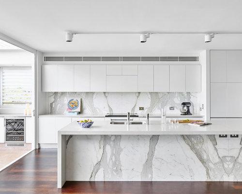 Illuminazione a binario per cucina - Foto e idee   Houzz