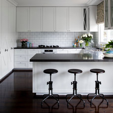 Transitional Kitchen by Horton & Co. Designers