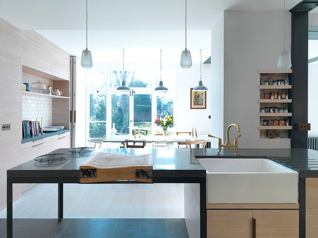 Contemporary Kitchen by Threefold Architects