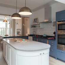 Traditional Kitchen Opens Up and Lightens Up