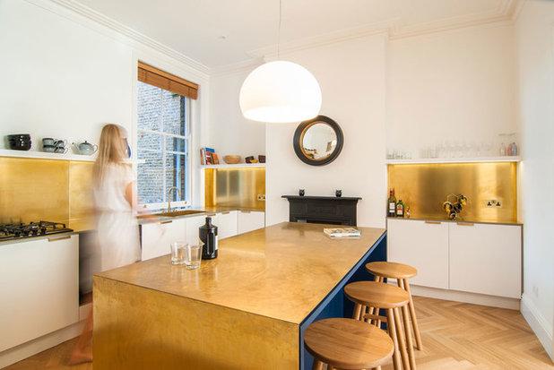 Contemporary Kitchen by Bradley Van Der Straeten