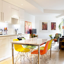Houzz Tour: Refreshing Citrus Twist in a London Home