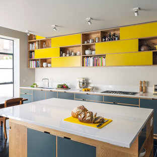 Hampstead Heath Double Height Kitchen