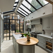 Houzz Tour: A Period Home with a Clever Underground Extension