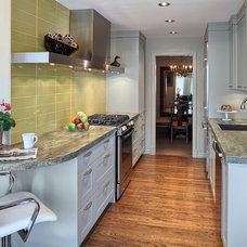 Eclectic Kitchen by Paula Arsens Kitchen Design