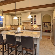 Craftsman Kitchen by Gonyea Homes & Remodeling