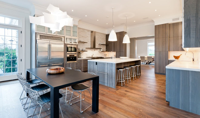Contemporary Kitchen by M.S. Architecture
