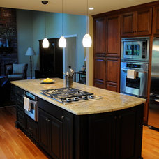 Eclectic Kitchen by Marino Construction Co., Inc.