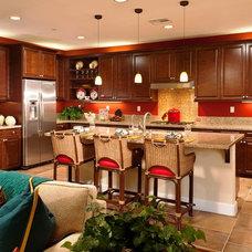Mediterranean Kitchen by Studio V Interior Design