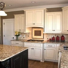 Traditional Kitchen Cabinets by Quality Stone Concepts