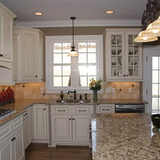 traditional kitchen countertops by Quality Stone Concepts