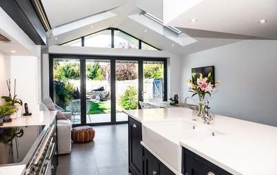 Kitchen Tour: Classic Cabinetry in a Cleverly Designed Extension