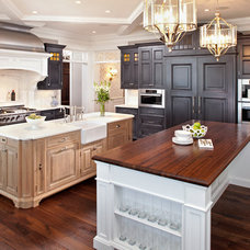 Traditional Kitchen by Eskuche Design