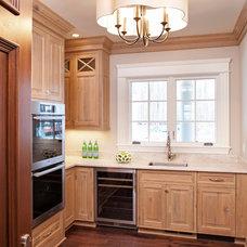 Traditional Kitchen by Eskuche Design