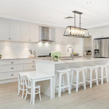 Hampton Style Family Kitchen & Bathroom