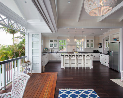 Hamptons style houzz for Hamptons beach house interiors
