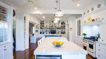 Hampton Style kitchen at Sherwood