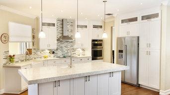 Hampton Style Kitchen (Cooper City, FL)