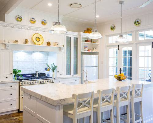 Hamptons style houzz for Hamptons style window treatments