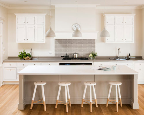SaveEmail Steding Interiors Joinery 3 Reviews Hampton Style Two Tone  KitchenHampton Style Kitchen Houzz
