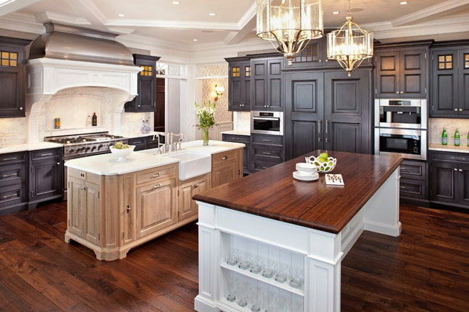 Transitional Kitchen by Hendel Homes