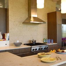 Farmhouse Kitchen by John Hummel & Associates Custom Builders