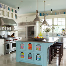 Transitional Kitchen by ALICE BLACK INTERIORS