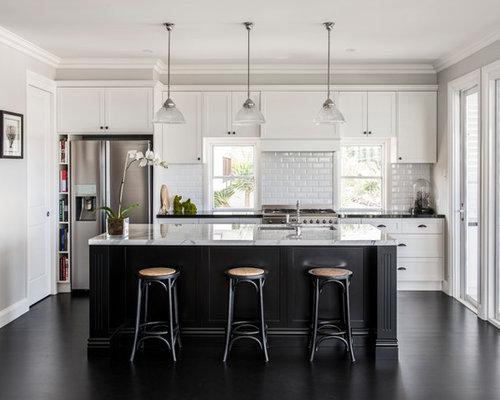Best Kitchen With White Backsplash Design Ideas Amp Remodel
